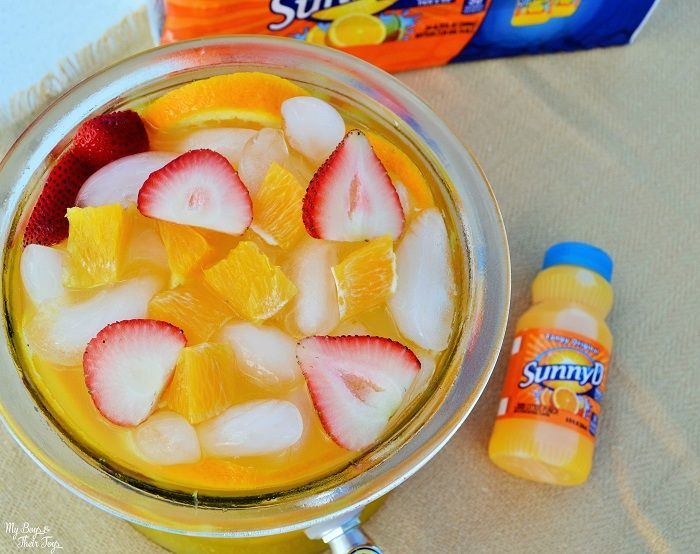 Easy Summer Punch Recipe With SunnyD