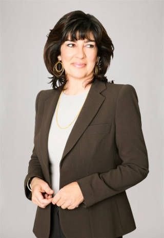 """""""I never assumed that because I was a woman anything was off limits to me."""" ~Christiane Amanpour"""