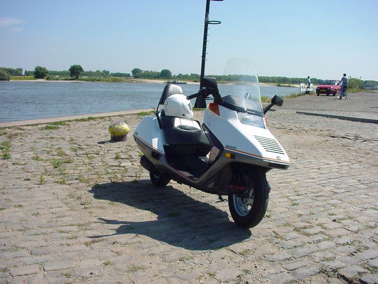 Toeristisch ritje op mijn Honda Helix.