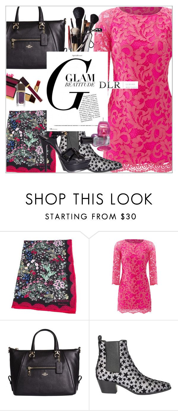 """""""DLRBOUTIQUE.COM"""" by mirachu-1 on Polyvore featuring Valentino, Lilly Pulitzer, Coach, Yves Saint Laurent and Tom Ford"""