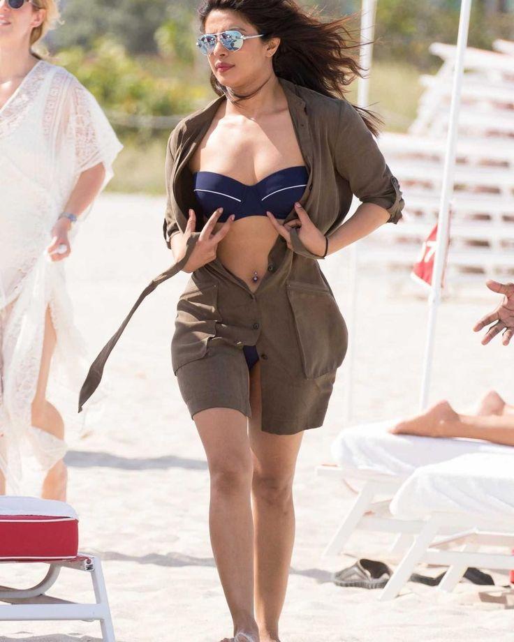 Priyanka Chopra in a bikini #bollywood  #bollywood #bollywoodcelebs #indianactress
