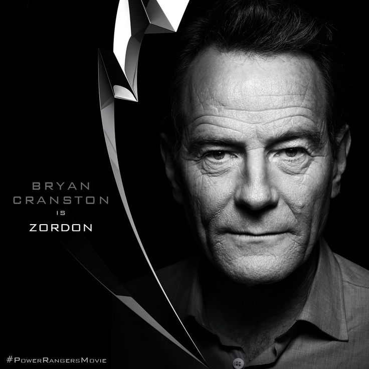 M.A.A.C. – Teaser Poster For POWER RANGERS The Movie. UPDATE: BRYAN CRANSTON Cast As 'Zordon'