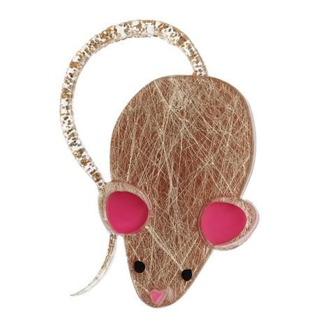 """Erstwilder Collectable Tom's Tormentor Brooch. """"Terrible tabbies and other assailants are no match for me and my superior wits. It's not the size of the mouse in the fight it's the…"""""""
