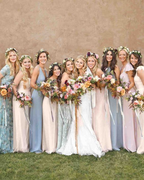 78 best ideas about Boho Bridesmaid Dresses on Pinterest ...