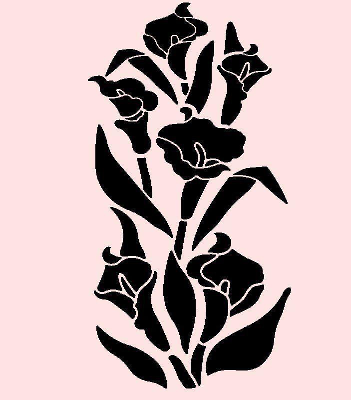 flower stencil patterns - photo #33
