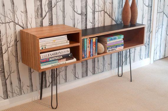 Z140 Book Shelf Vintage Industrial Retro Art Cabinet by Senkki