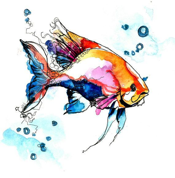 This would make a lovely watercolor tattoo
