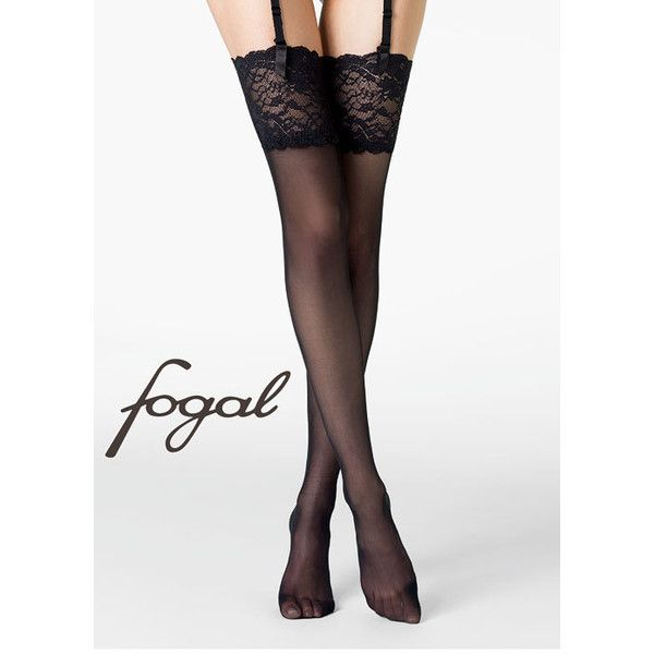 Fogal Caresse 20 Stockings ($39) ❤ liked on Polyvore featuring intimates, hosiery, tights, lingerie, stockings, fogal, fogal stockings, lingerie pantyhose, fogal hosiery and fogal pantyhose