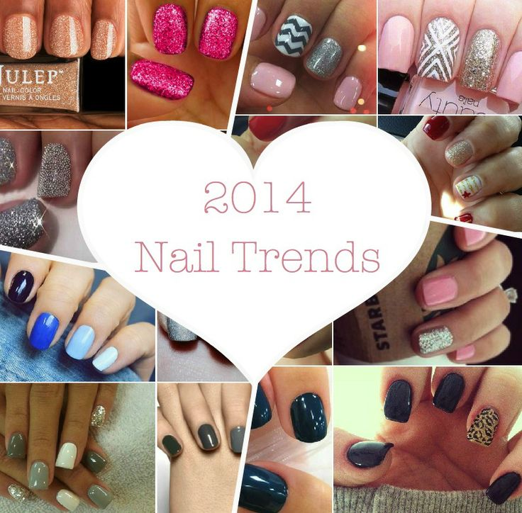 Nail trends for 2014 #style#trends#nailpolsih