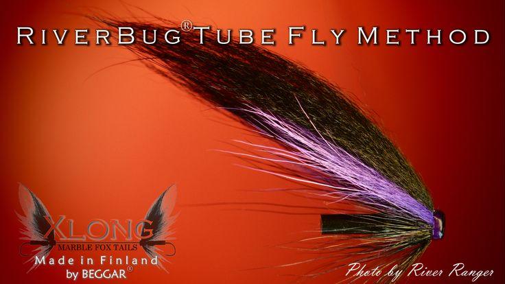 Deep Purple tied in RiverBug(R) body tubing. www.riverbug.fi #riverbug @RiverBugFinland #river4ranger