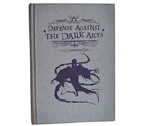 Defense Against the Dark Arts Magical Notebook – The notebook comes in hardcover and it's interior pages are blank and have deckle edges. It's perfect for all your Hogwarts note taking.