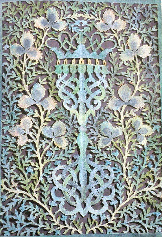 Jewish Papercut