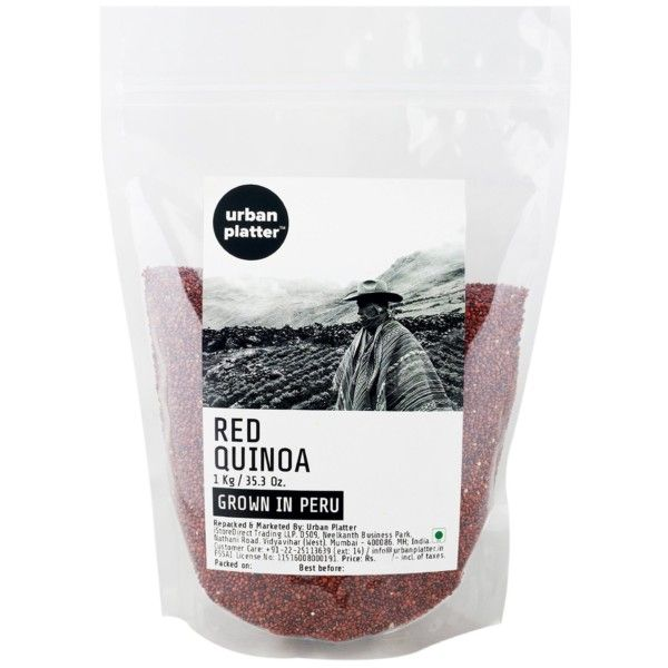 Urban Platter Red Quinoa (Grown in Peru), 1Kg | Food