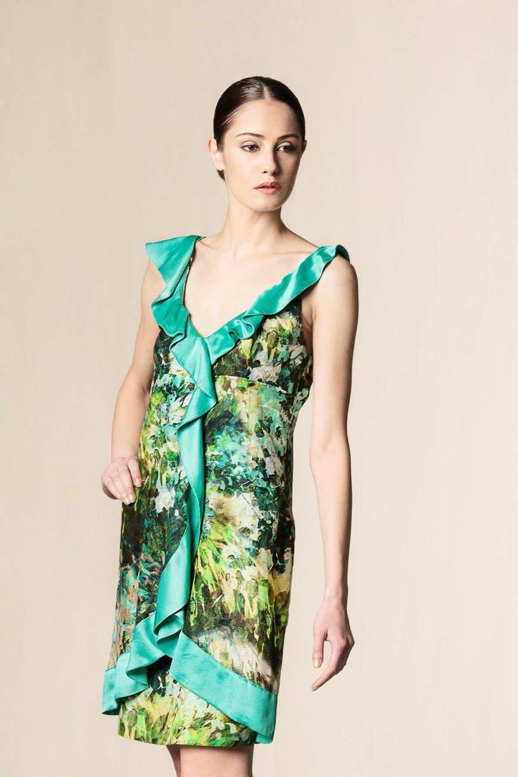 Vestito stampato #robertascarpa #fashion #dressingfab #shoponline #shopping