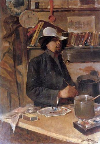 Self -portrait - Jan Toorop