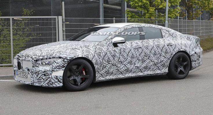 Mercedes-AMG Readying Insanely Powerful 800HP Four-Door GT For 2019 #AMG #Mercedes