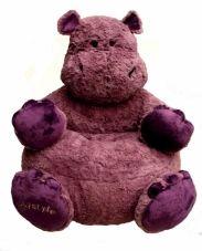 hippo knuffel kinder stoel
