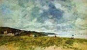 """New artwork for sale! - """" The Shore At Tourgeville 1893 by Boudin Eugene """" - http://ift.tt/2jtOGjj"""