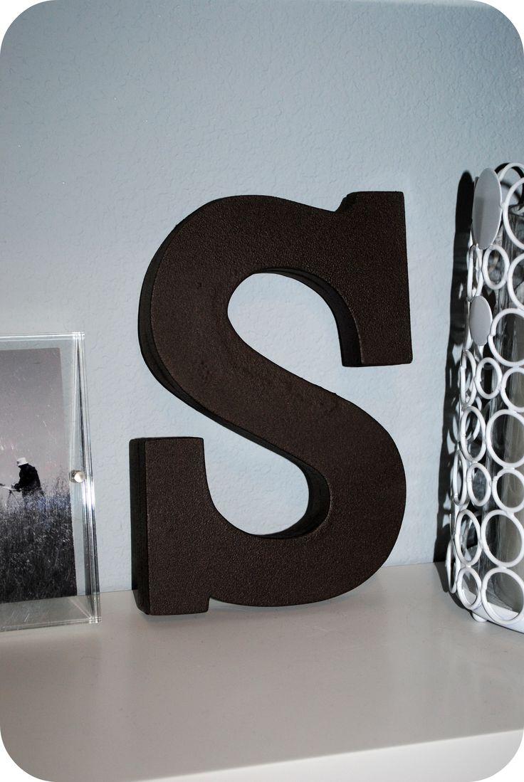 diy letter buchstaben diy letters diy pinterest buchstaben. Black Bedroom Furniture Sets. Home Design Ideas