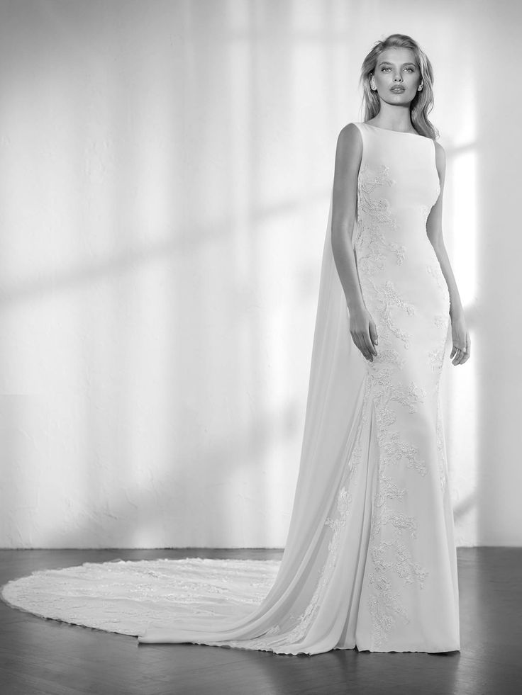 Zaida wedding dress by Studio St. Patrick from Pronovias www.zadikabridal.ie