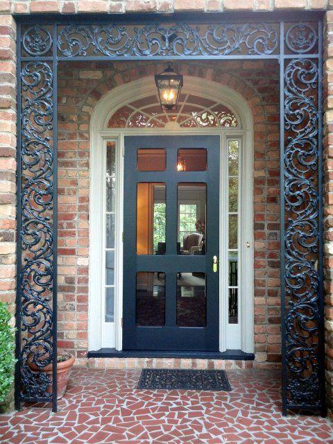 124 best storm doors images on pinterest front doors for Front entry doors with storm door