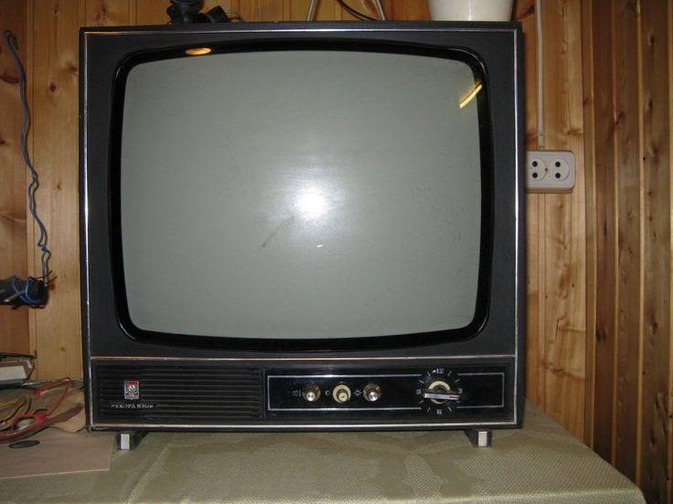 BW TV set