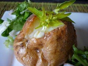 Jacket Potatoes in the Halogen Oven