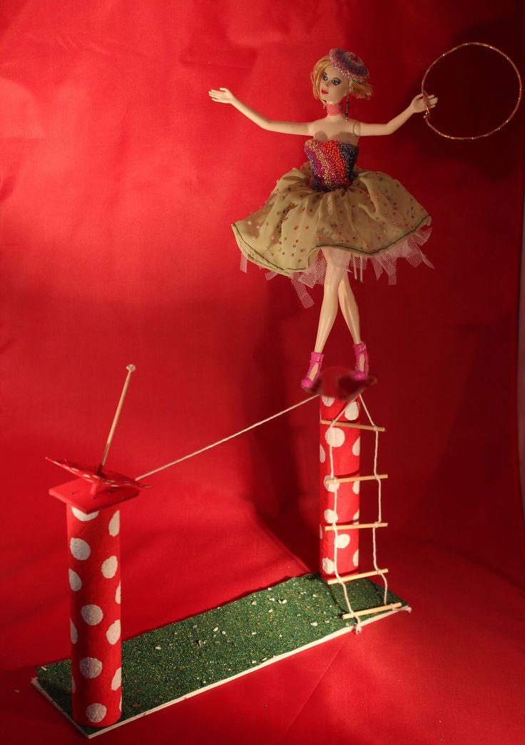 La trapecista