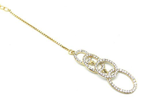 Four Rings Maang Tikka for a Stylish Look Decorated with ... http://www.amazon.in/dp/B072JTQNTG/ref=cm_sw_r_pi_dp_x_3e5wzbE512AF2