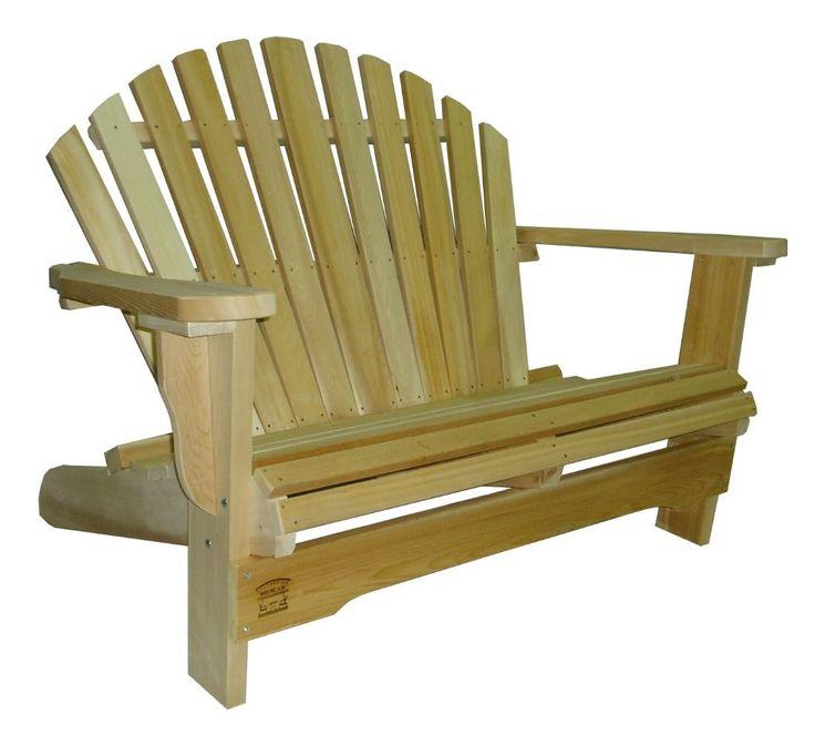 1000 id es sur le th me fauteuils adirondack sur pinterest chaises en bois - Fauteuil de jardin en bois style americain ...
