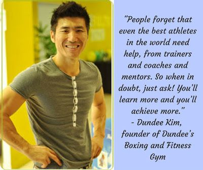 Inspiring People: Dundee Kim, founder of Dundee's Boxing and Fitness Gym Apart from the benefits of physical fitness boxing also promotes other skills, such as discipline that you can apply to other areas of your life. Dundee Kim shares how he used some of the skills he acquired from boxing to achieve his goals.  #InspiringPeople #interviews #GoalSetting #MrGift