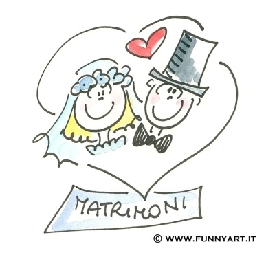 Do u like this logo?  This is the FunnyART style for brides tailored drawings :)