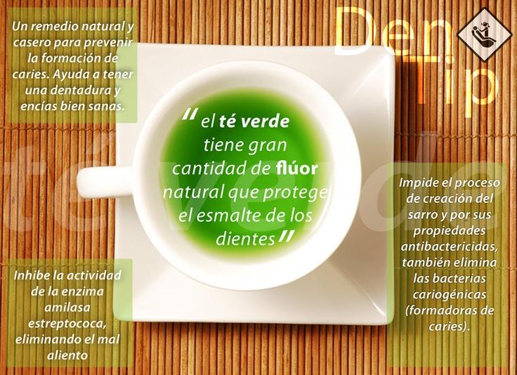 www.dentistamonterrey.mx presenta los beneficios del té verde