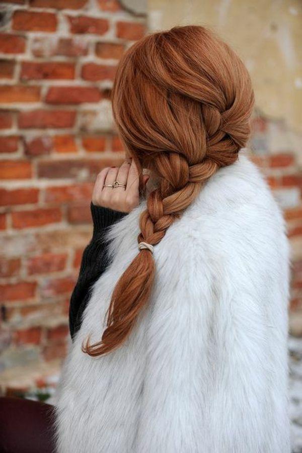 couleur de cheveux tendance, fille avec cheveux longs