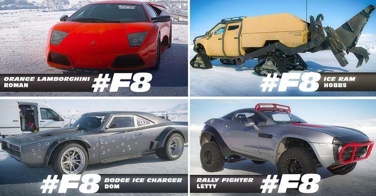 Los autos que saldrán en Fast 8, la nueva película de la saga de Rápido y Furioso, fueron mostrados en Instagram por los estudios que hacen las películas.