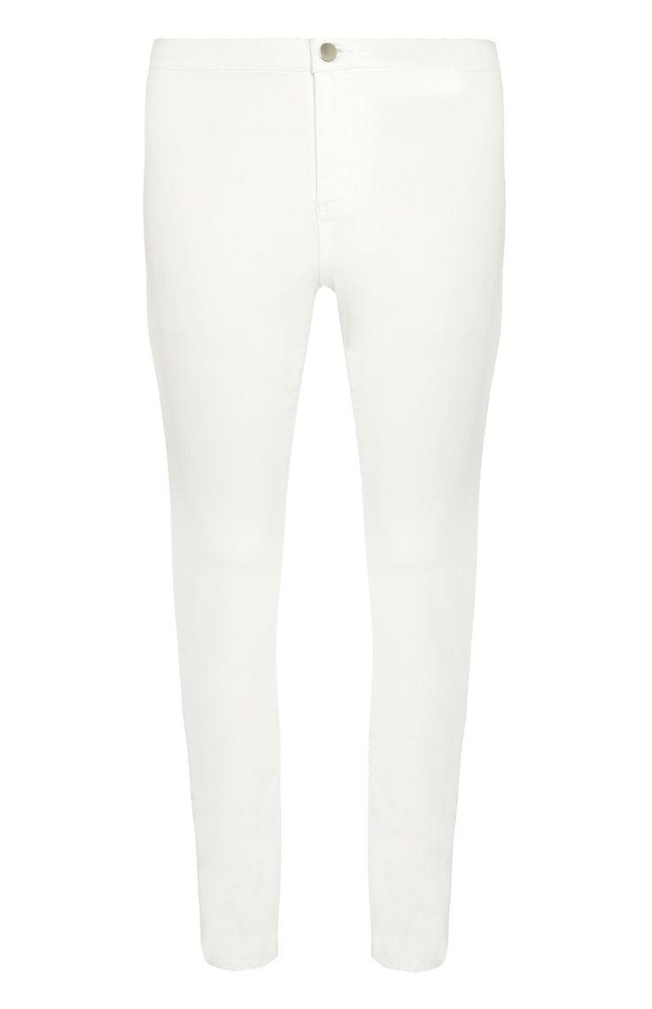 Primark - Witte skinny jeans