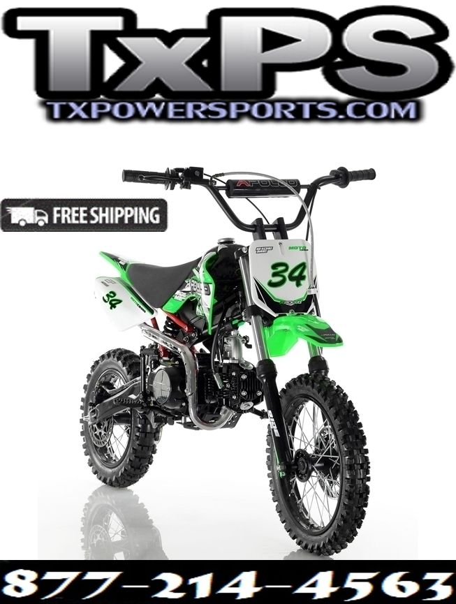 Cougar Cycle DB-34 110cc Semi Automatic DIRT BIKE. Free Shipping. Sale Price: $900.00