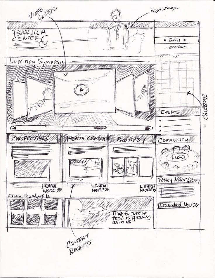 Barilla Wireframe SketchMatthew DeFede is A Professional Freelance Website, UX Designer & Graphic Design in NJ (New York City Area) www.matthewdefede... 862-228-0554 #Consultant #Website design #UX Design
