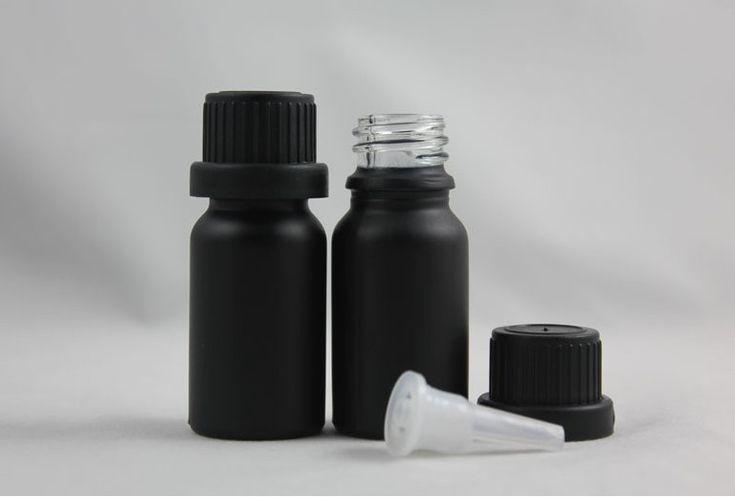 Высокое качество 10 мл черный матовый бутылки многоразового бутылку масла духи стекло с капельницы, принадлежащий категории Запасные бутылочки и относящийся к Красота и здоровье на сайте AliExpress.com | Alibaba Group
