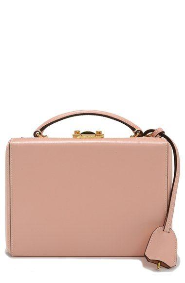 Mark Cross 'Small Grace' Saffiano Leather Box Bag