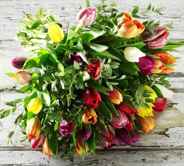 Tulipan buket - Happyflower.dk
