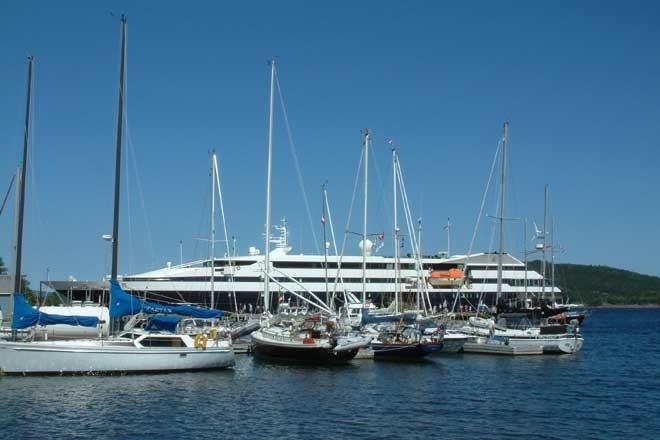 St. Peter's Marina. Cape Breton, Nova Scotia