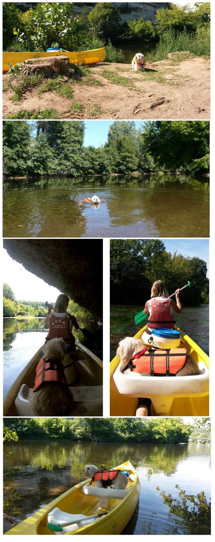 Canoe sur la Vèzére