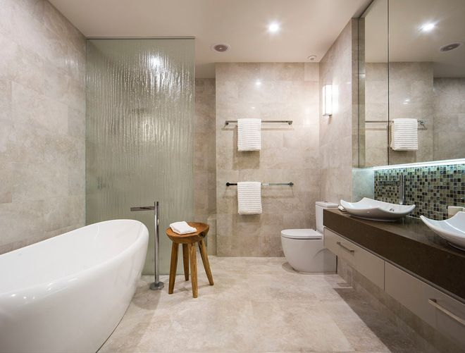 Contemporary Bathroom By Akl Designer Kitchens 10 Tricks To Help Your House