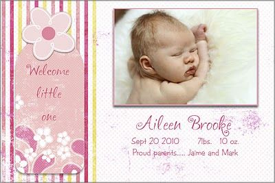 17 best images about birth announcement templates on for Free online birth announcements templates