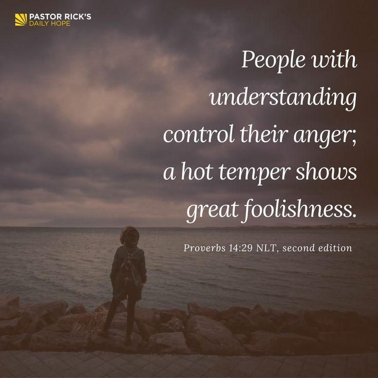If you calculate the cost of anger, you're less likely to get angry when somebody's pushing your buttons. Learn more in this devotional from Pastor Rick Warren.