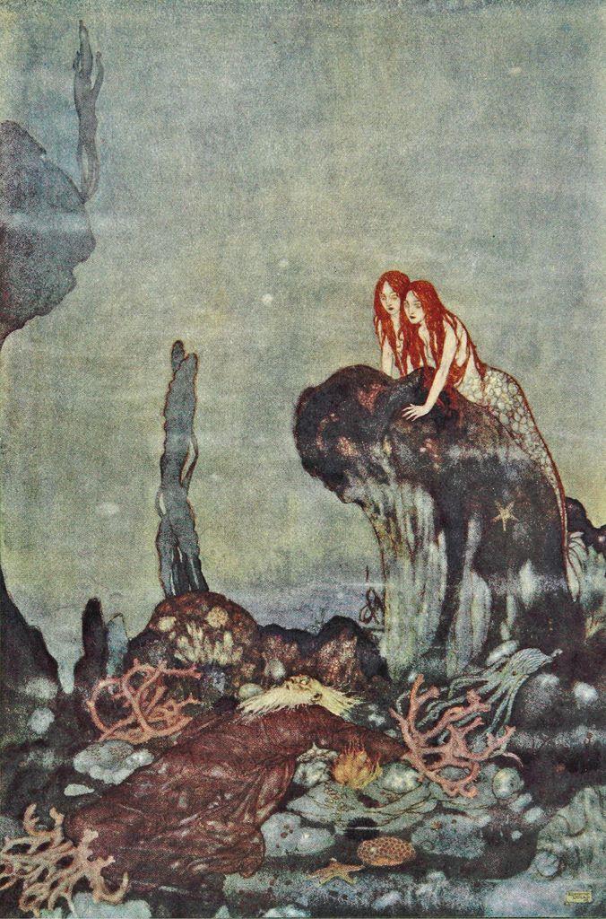Public Domain Review On Twitter Mermaid Art Art Fairytale Illustration