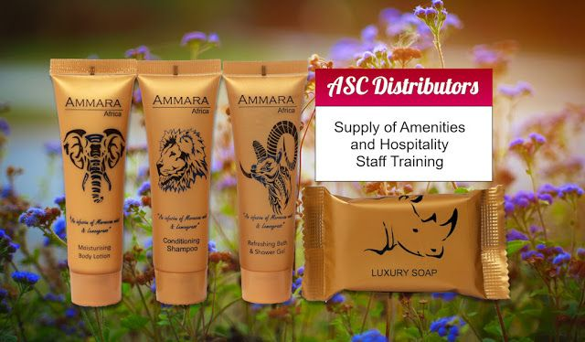 ASC Distributors amenities to hotels, lodges, and guest houses that provide that professional touch.