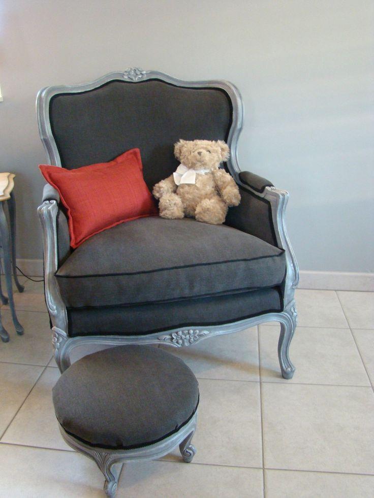 Relooking d'une bergére Louis xv. - Relooking meubles & intérieur