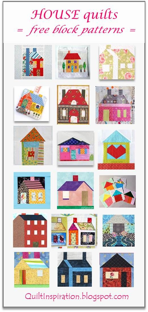 Quilt Inspiration: Search results for schoolhouse
